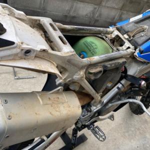 CRF250R スロットルボディ清掃