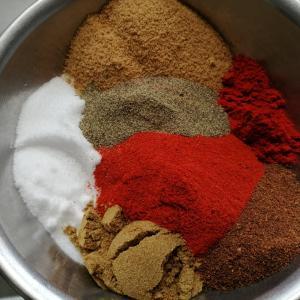 【BBQ】BBQ Pit BoysのDry chili rubのレシピを再現してみたら最高だった話。