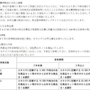 ・3/15[金]結果:資産は激寒。ヤーマン[6630]さん株主優待改悪?