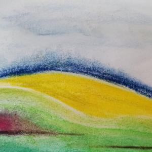 黄映える草原