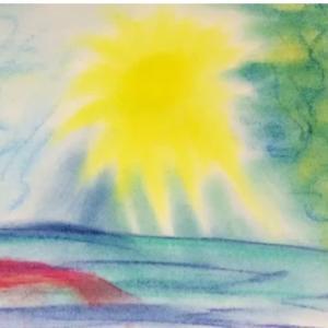 太陽の閃光と人魚