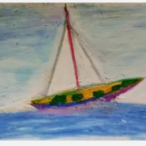 帆のある船
