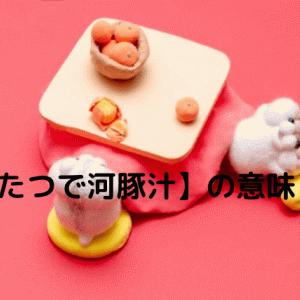 【こたつで河豚汁】とはどんな意味があるの?語源や使い方を解説!
