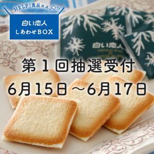 【半額お菓子BOX再び!】「白い恋人」しあわせBOXが抽選販売されます【これは見逃せない】