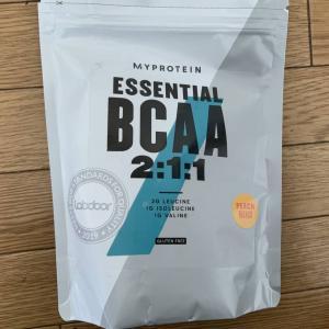 ピーチの味が強くてちょっと後味が・・・。マイプロテイン Essential BCAA【レビュー】
