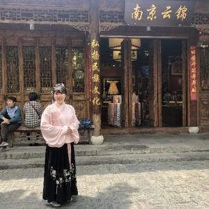 中国最新トレンド 若い女性に大人気な汉服 日本人にもオススメ!!!