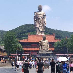 無錫の観光地 中国に巨大な大仏? 无锡 灵山大佛