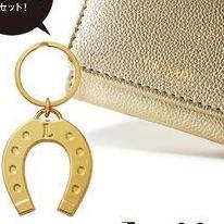 金運アップの意味を持つゴールドと馬蹄モチーフチャームのセット