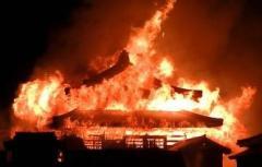 「沖縄のシンボル」である首里城の正殿などの焼失に関係者は言葉を失った。