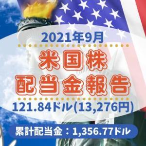 【米国株運用実績】23ヶ月目の配当金報告