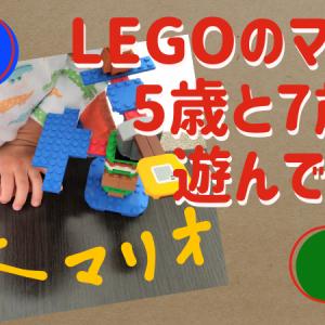 マリオのレゴで5歳と7歳が遊んでみた感想 説明書がない!?