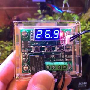 季節の変わり目は水槽の温度管理が難しいので、温度センサー付きサーモスイッチを買ったお話【Wish】