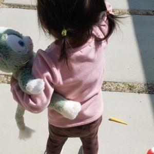 保育園でたんぽぽ組へ進級する娘