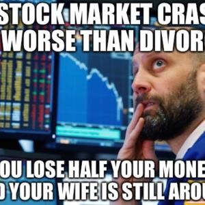 金融危機が起きても何も変わりませんでした ww