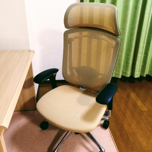 最強の高級椅子「オカムラ コンテッサ」使って5年経過。全然壊れないんだが ww