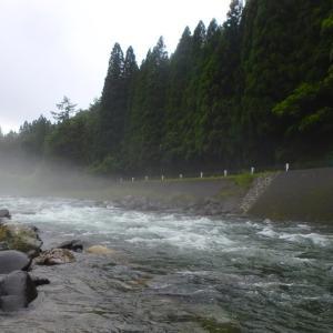長い梅雨~飛騨 庄川釣行