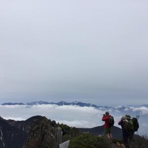 親子登山におすすめな舟山十字路から阿弥陀岳へのルート【開山祭】