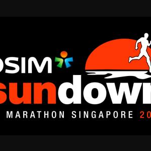 シンガポール2大マラソンの一つ『Sundown Marathon 2020』