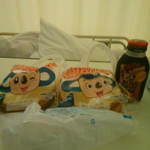 入院17日目。ドアラのイチゴサンドケーキ調達(^o^)v!!日本シリーズ⚾