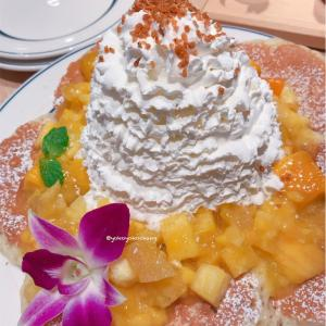 ワイキキでも大人気カフェ「Eggs'n Things」ジャズドリーム長島で食べる!