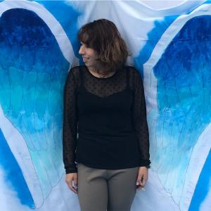 インスタ写真スポット『天使の羽』無事完成