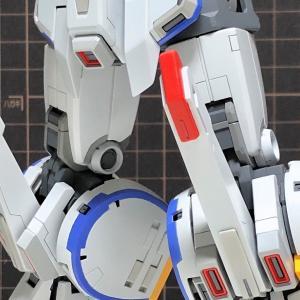 脚部塗り分け MG ZZガンダム Ver.Ka