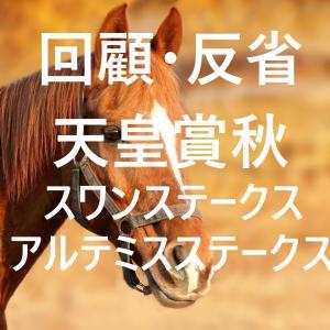 天皇賞秋・スワンステークス・アルテミスステークス 回顧・反省