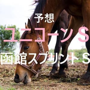 第25回 ユニコーンステークス(GⅢ)第27回 函館スプリントステークス(GⅢ)追切評価・独自指数・予想