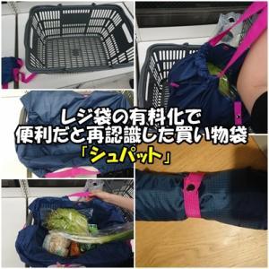 レジ袋の有料化で便利だと再認識した買い物袋「シュパット」
