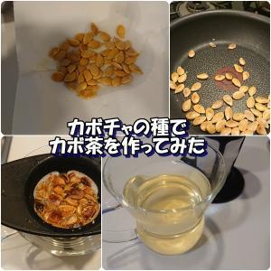 カボチャの種でカボ茶を作ってみた