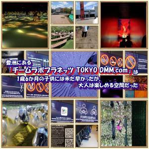 豊洲にある「チームラボプラネッツ TOKYO DMM.com」は1歳6か月の子供には未だ早かったが、大人は楽しめた