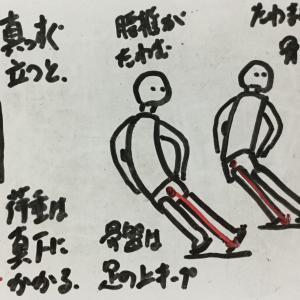 背骨をしならせる動作の、出番と必要性