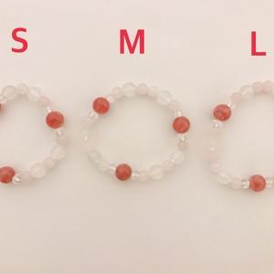 S・M・Lの3種類は、こんな感じ♪