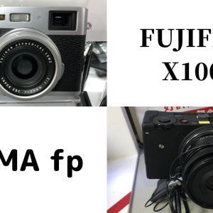 今気になる2つのカメラ〜SIGMA fpの実機を触った感想とX100Vの話〜