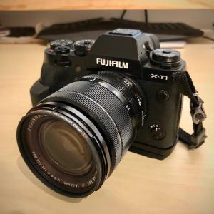 初めてのカメラにFUJIFILMのミラーレス一眼X-T1を買いました!