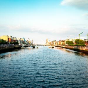 FUJIFILM X-T1で撮ったアイルランド・ダブリンの景色。