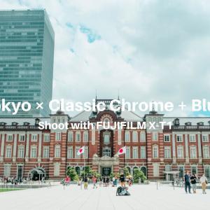 【街角スナップ】東京 × クラシッククローム + 青