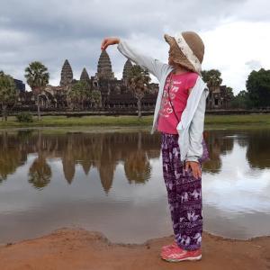 カンボジア旅行、アンコールワット!