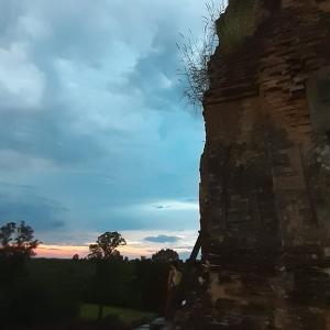 カンボジア旅行2日目「プレ・ループの夕日」