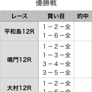 優勝戦予想 2020年2月6日(木)