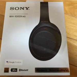 【物】SONY WH-1000XM3
