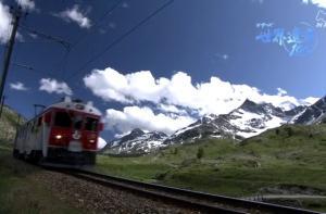 【特別編集版】シリーズ世界遺産100 文化遺産 レーティッシュ鉄道 ベルニナ線とアルブラ線の景観 未編集素材より(スイス)