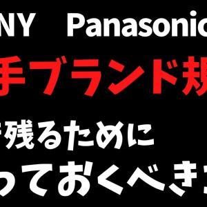 【せどり・転売】 SONY、Panasonicが出品制限に? 概要と今後のAmazon販売方針について