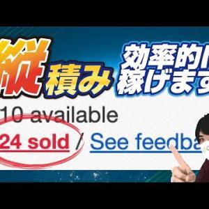【eBay輸出】繰り返し売る!効率的に利益5〜10万円稼ぐなら縦積みがオススメ!