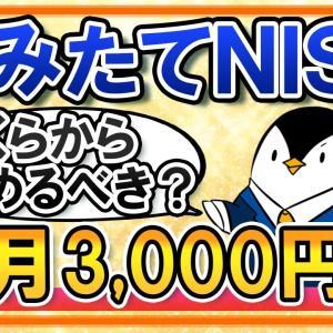 【月3,000円からでOK】つみたてNISAは毎月いくらから始めるべき?小額投資は意味が無いのかもあわせて解説
