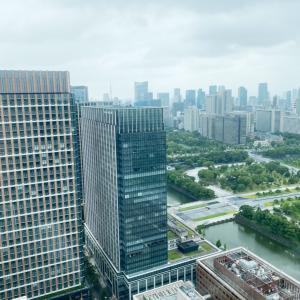 丸ビル35階で+゚*。:゚+(人*´∀`)ウットリ+゚:。*゚+.ランチ