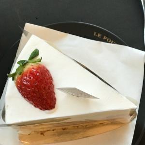 念願のいちごショートケーキ♡