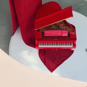 【松坡区】真っ赤なピアノがインパクト大!韓国Cafe