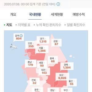 【韓国新コロ】本日の新感染者とニュース