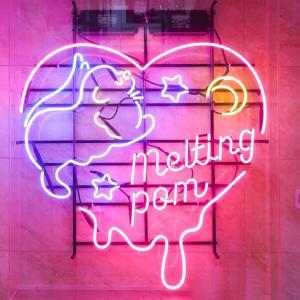 【東大門区】ピンクのベッドの上で?!ピンク韓国Cafe